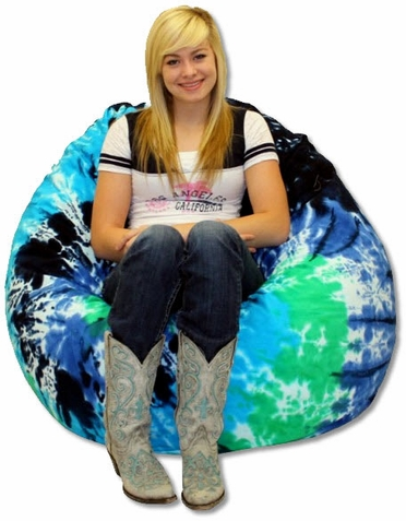 King Beany Large Tie Dye Bean Bag