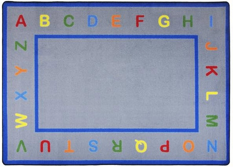Learn Your Letters Classroom Rug 5'4 x 7'8