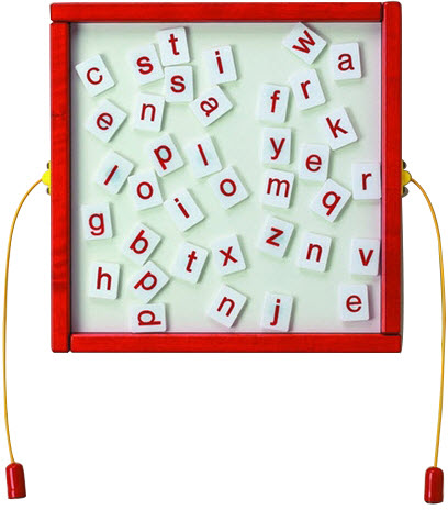 Letter Fun Wall Activity Toy