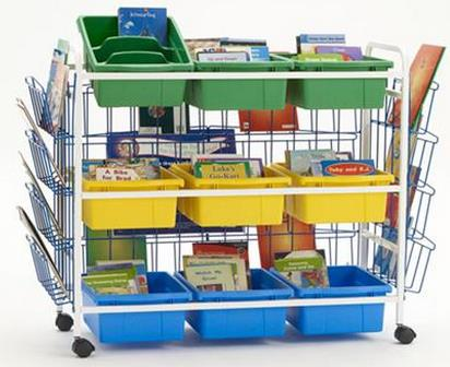 Copernicus Leveled Reading Book Browser w/book displayers & tub pack