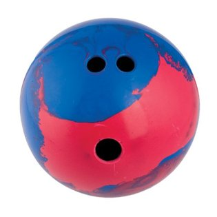 Lightweight Rubber Bowling Ball - Free Shipping