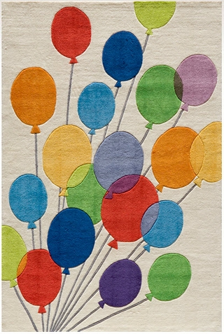 Momeni Lil Mo Whimsy Balloon Area Rug
