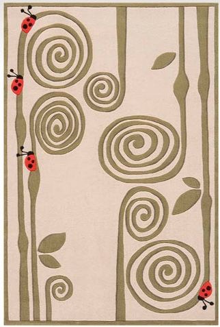 Momeni Lil Mo Whimsy Curly Fern Area Rug