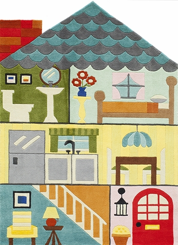 Momeni Lil Mo Whimsy Dollhouse Rug - Out of Stock