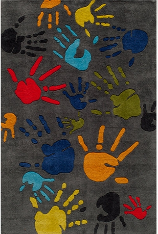 Momeni Lil Mo Whimsy Finger Paint Area Rug