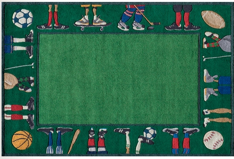 Momeni Lil Mo Whimsy Sports Area Rug