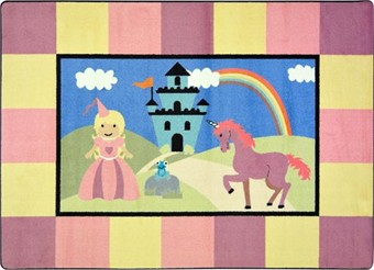 Lil' Princess Area Rug 3'10 x 5'4
