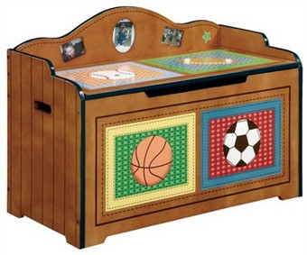Lil Sports Fan Toy Chest