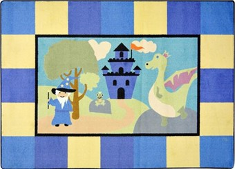 Lil' Wizard Childrens Area Rug 5'4 x 7'8