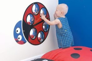 Lilly the Ladybug Bubble Mirror