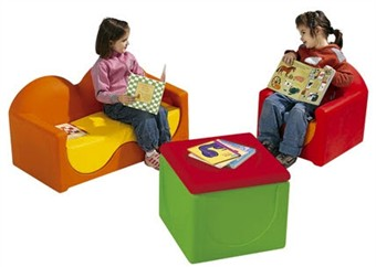 WESCO LILOO Modern Wave Kids Funiture Set