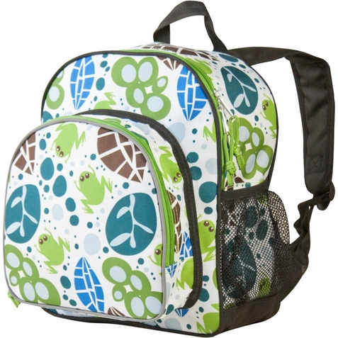 Lily Frogs Pack 'n Snack Backpack - Free Shipping
