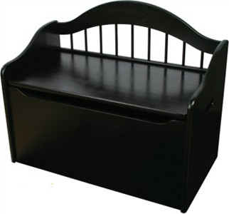 KidKraft Limited Edition Toy Box in Black
