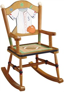 Little Sports Fan Rocking Chair