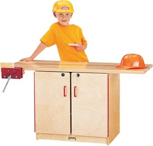 Jonti-Craft Lockable Classroom Workbench