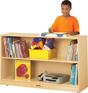 Jonti-Craft Low Adjustable Classroom Bookcase