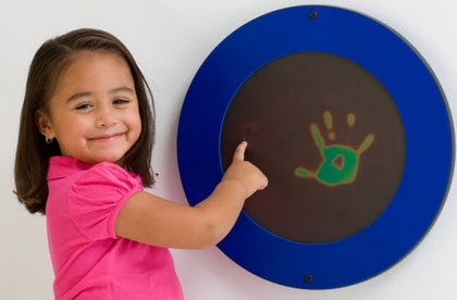 Magic Circle Heat Sensitive Wall Toy