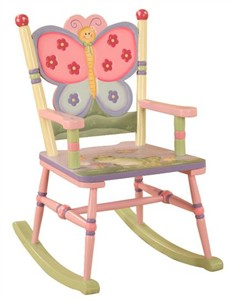 Magic Garden Children's Rocking Chair