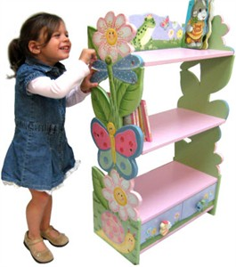 Magic Garden Childrens Book Shelf