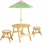 Magic Garden Outdoor Table/Chair Set - Free Shipping