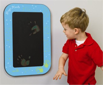 Magic Hands Heat Sensitive Wall Toy
