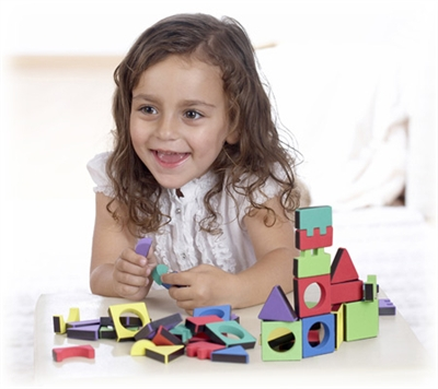 Edushape Magic Shapes - 54 Piece Set