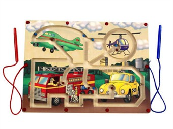 Anatex Magnetic Transportation Maze Toy