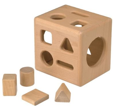 Maple Shape Sorter by TAG Toys - Free Shipping