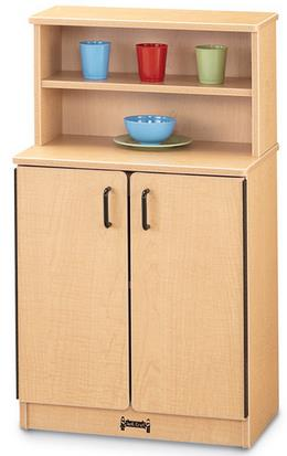 Jonti-Craft MapleWave Play Kitchen Cupboard