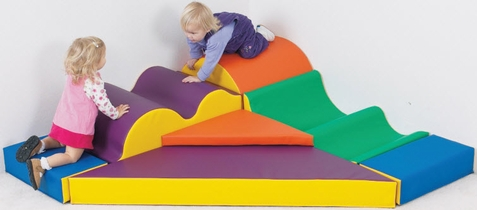 Marshmallow Upside Downs Soft Play Climber