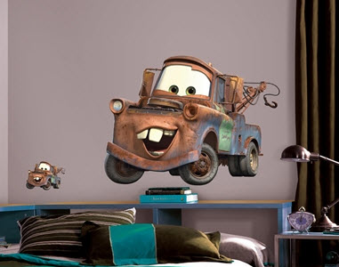 Cars Mater Giant Wall Decal