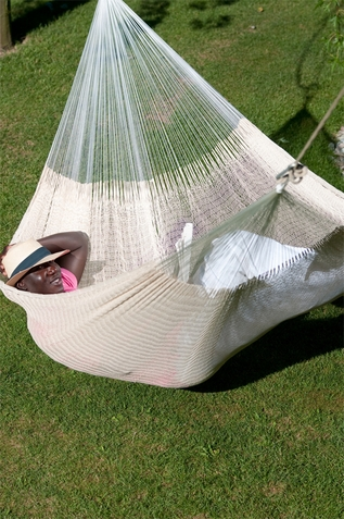 Mayan Net Hammock Mexicana �cru - Out of Stock