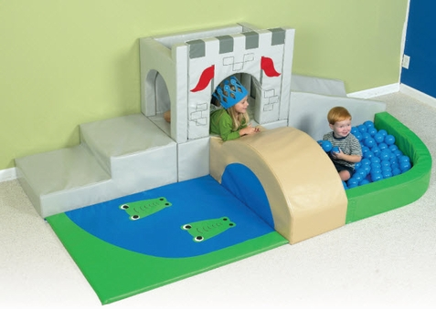 Medieval Kingdom Soft Play Climber