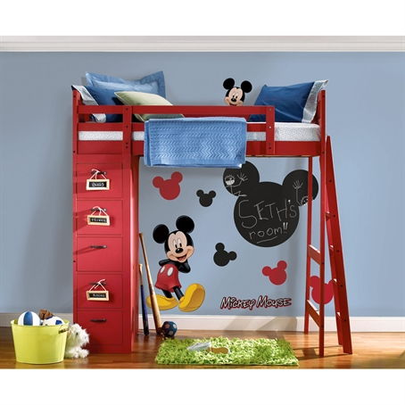 Mickey Chalkboard Peel & Stick Wall Decal