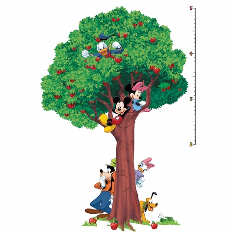 Mickey & Friends Peel & Stick Growth Chart