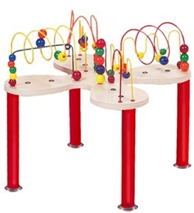 Anatex Mini Curves & Waves Waiting Room Bead Toy Table