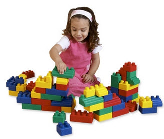 Edushape Mini Edublocks - 52 Piece Set