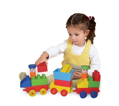 Edushape Mini Edutrain - 30 Piece Set