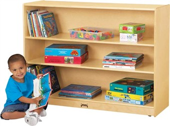 Jonti-Craft Mobile Adjustable Bookcase