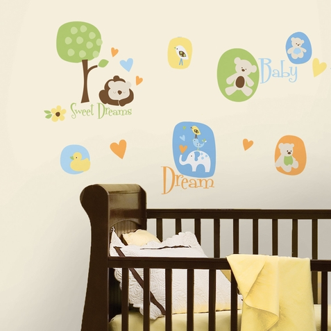 Modern Baby Peel & Stick Wall Decals - Free Shipping
