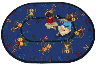 Monkey Business Classroom Rug
