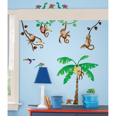 Monkey Business Wall Decals - Free Shipping
