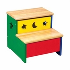 Moon & Stars Storage Step Stool