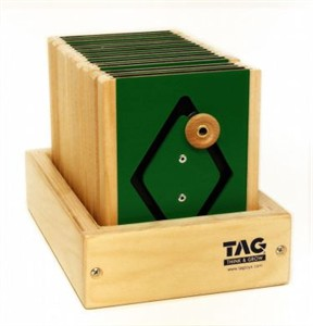 Motor Shapes Teaching Toy