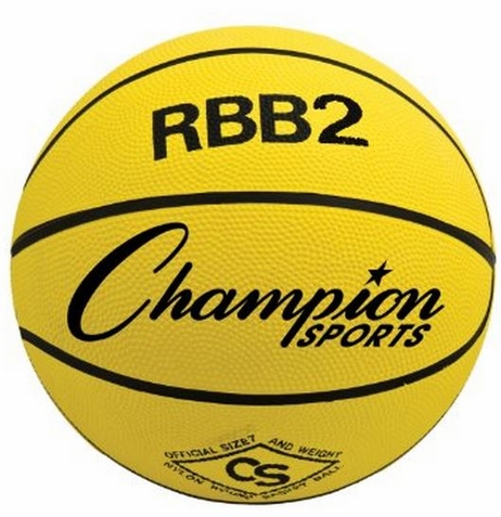 Champion Sports Pro Rubber Basketball
