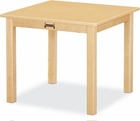 Jonti-Craft Multi Purpose Square Table