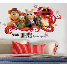 Muppets Collage Peel & Stick Giant Wall Decal
