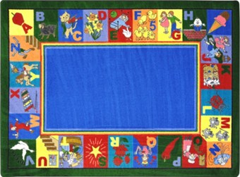 My Favorite Rhymes Kids Carpet 10'9 x 13'2