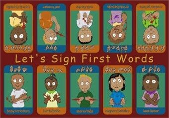 My First Sign Language Rug 10'9 x 13'2