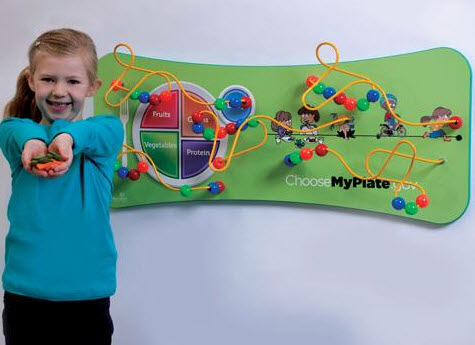 MyPlate Flip Wall Toy